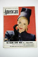 THE AMERICAN MAGAZINE March 1946 J. Edgar Hoover FBI Story Illustrated