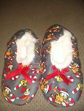 Garfield Christmas Slippers, Small 6/7. EUC