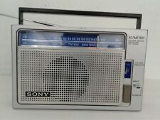 VINTAGE SONY AM/FM 2 BAND PORTABLE RADIO RECEIVER ICF-700W (Fast Shipping)