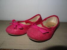 Ballerines fillette roses à paillettes GEMO Taille 26