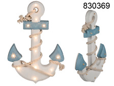 Wooden Anchor with LED lights