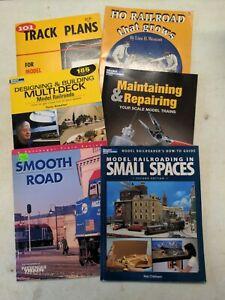 Lot Of 6 Books On Model Railroading