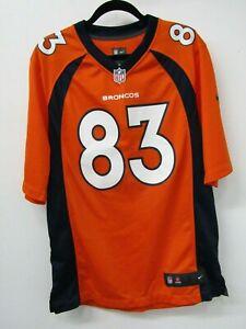 Denver Broncos NFL Wes Welker Nike Men's Jersey (size L)