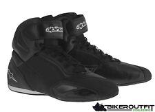 ALPINESTARS Motorradstiefel FASTER 2 schwarz Sneaker Schuh atmungsaktiv Gr. 42