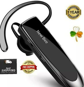 New Bee Bluetooth Earpiece Wireless Headset Handsfree in Ear HD sound