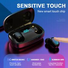 Bluetooth 5.0 earbud wireless headset waterproof headphone TWS noise canceling