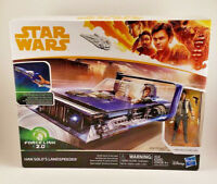 2017 Star Wars Han Solo's Landspeeder Force Link 2.0 New in Box Hasbro Disney