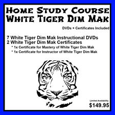 Home Study Course: White Tiger Dim Mak (DVDs + Certificates Included)