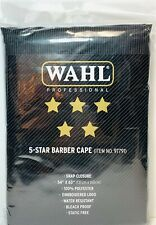 Wahl #97791 5-Star Salon Barber Cutting Cape Snap Closure Static Free NEW