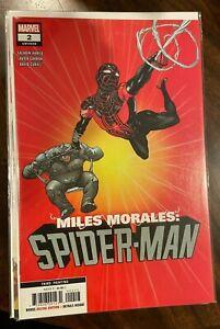 Miles Morales Spider-Man #2 HTF 3rd Printing Low Print Run VF/ NM