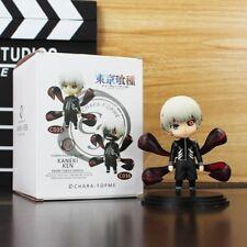 2pcs/set 10cm Anime Tokyo Ghoul Kaneki Ken With Mask PVC Figure Toys Q Version