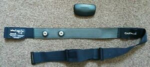 Used Garmin Heart Rate Monitor HRM3-SS ANT+ with Soft Chest Strap