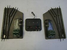 AMERICAN FLYER PRE WAR  VINTAGE ELECTRIC SWITCHES R&L & CONTROLLER 3 RAIL OGAUGE