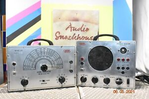 eico signal tracer model 147A and Eico 377 audio gen. powers on and working.