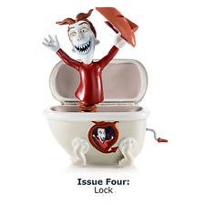 "Tim Burton The Nightmare Before Christmas ""Jack"" In The Box Lock Figurine NEW"