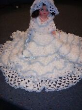 Doll Handmade Crocheted Bride