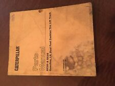 CATERPILLAR CAT GC20 GC25 LIFT TRUCKS  FORKLIFT PARTS MANUAL BOOK