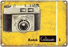 """Kodak 35mm Film Camera Retinette I 10"""" x 7"""" Retro Look Metal Sign"""