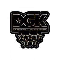DGK SHINE STICKER Dirty Ghetto Kids Shine 3.25 in x 3 in Skateboard Decal