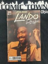 Star Wars Lando Double or Nothing #1 1:10 Movie Variant A Free Shipping