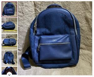 Brand new Vince Camuto blue messenger backpack MSRP 90$