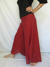 Pantalon Papillon Bordeaux - Vetements Hippie Baba Cool
