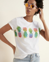 Old Navy Women's Everywhere Graphic Tee XL Pineapples NEW HBX6