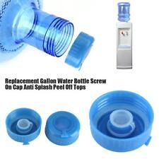 5Pcs Blue Gallon Water Bottle Cap Drinking Water Bottle Screw on Cap Replacement