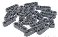 LEGO Technik - 20 x Liftarm dünn 1x3 dunkelgrau / Liftarm Thin / 6632 NEUWARE