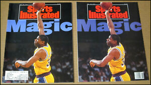 11/18/1991 Sports Illustrated + Supplement Magic Johnson Los Angeles Lakers HIV