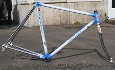 Lazzaretti Roma road bike steel frame set, 51x54 cm, Columbus Slx, Cinelli BB