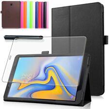 9H Hartglasfolie+ Tasche Samsung Galaxy Tab A 10.5 T590/T595 2018 Schutzhülle-2