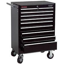 Draper 9 Drawer Black Roller Garage/Workshop Work Tool Storage Cabinet - 80245