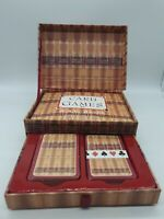 CARD GAMES by N A C Bathe BOXED SET WITH CARDS & BOOKLET NEW UNUSED Pub, Bar