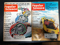 Vintage, Popular Science Magazines, 1967, Lot of 11 My LSD Trip / Dune Buggy