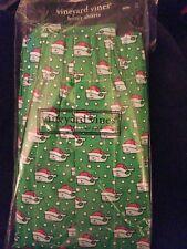 NWT Small Christmas Vineyard Vines Boxers Green Dots w/ Santa Whales new