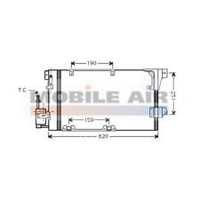 Kondensator Klimaanlage - van Wezel 37005251