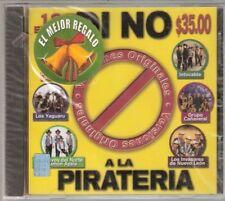 Los Invasores De Nuevo Leon, Intocable, Di No A La Pirateria CD New