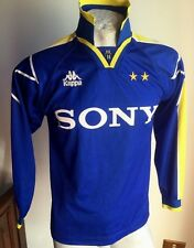 MAGLIA CALCIO KAPPA DEL PIERO #10 JUVENTUS SONY 1997 AWAY FOOTBALL SHIRT VINTAGE