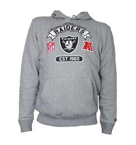 New Era Kapuzen Sweatshirt Hoody Hoodie Pullover Raiders NFL