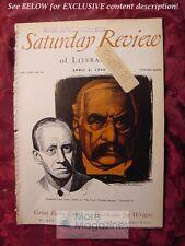 Saturday Review April 2 1949 FREDERICK LEWIS ALLEN REX STOUT