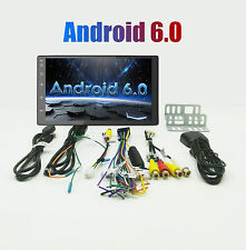 "Quad Core Android 6.0 3G WIFI 7"" Double 2DIN Car Radio Stereo MP3 Player GPS Nav"