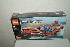 BOITE LEGO TECHNIC POWER BOAT  BATEAU  ET HYDRAVION DECOURSE 2 EN 1  NEUF 42089