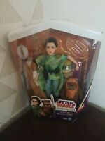 Star Wars forces of destiny C1631 Endor Leia Wicket 2pack Hasbro 2017