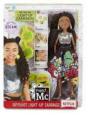 Project Mc2 Experiments with Doll Bryden's Light Up Earrings - NEW & SEALED!