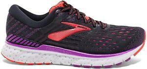 Brooks Womens Transcend 6 Running Shoes - Black/Purple - B Width (Standard)