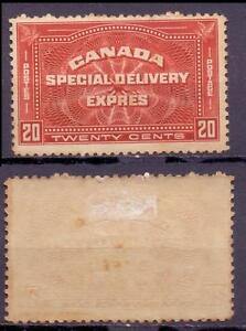 Kanada 156 *, Eilmarke 20 C Falzrest #e211