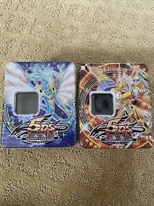YuGiOh Konami 5Ds Ancient Fairy And Power Tool Dragon Collectible TIN ONLY 2009