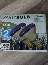 Maxlite~ Blue Party Bulb~ 2 Pack~ 75 Watt~ Tested