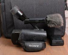 Sony Handycam NEX-VG10 Interchangeable Lens 1080 HD Camcorder Body with Bag